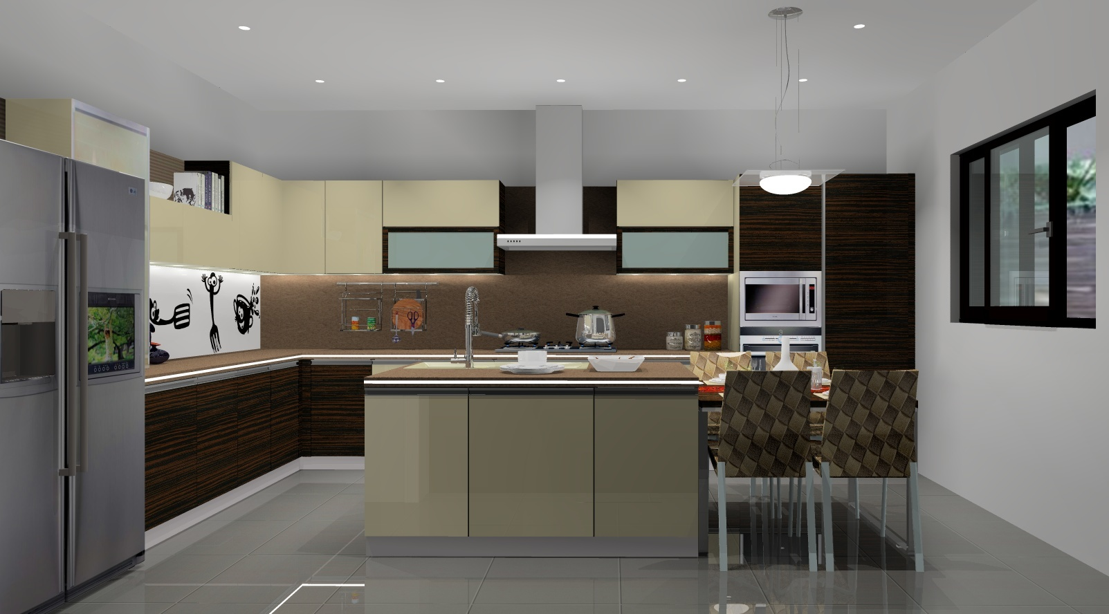 DesigningKitchen  The Home Makers India - Designing kitchen