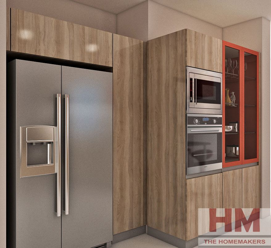 Buy Modular Kitchens And Wardrobes In Gurgaon Delhi Ncr: Designing-Kitchen