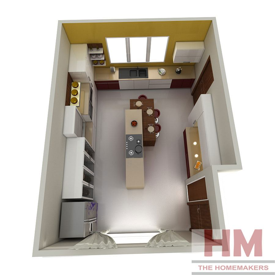 Designing-Kitchen - The Homemakers